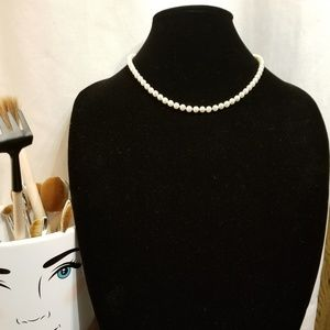 Freshwater Pearl Necklace 14K